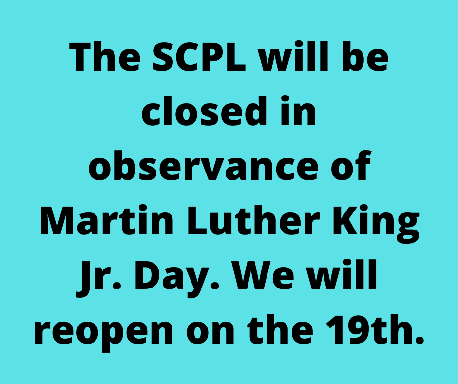 Closing for MLK Day