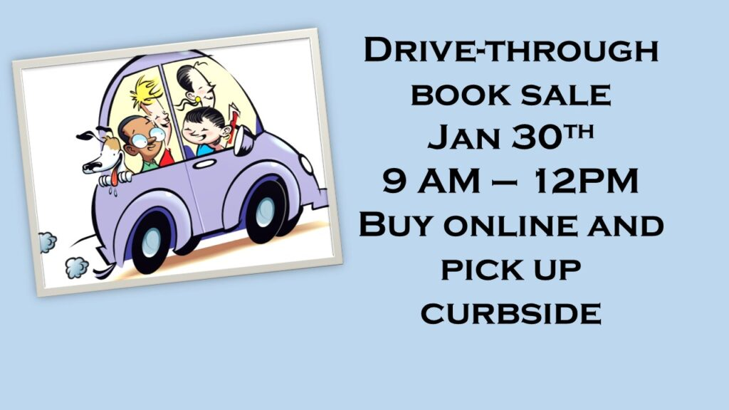 Drive-Through Book Sale