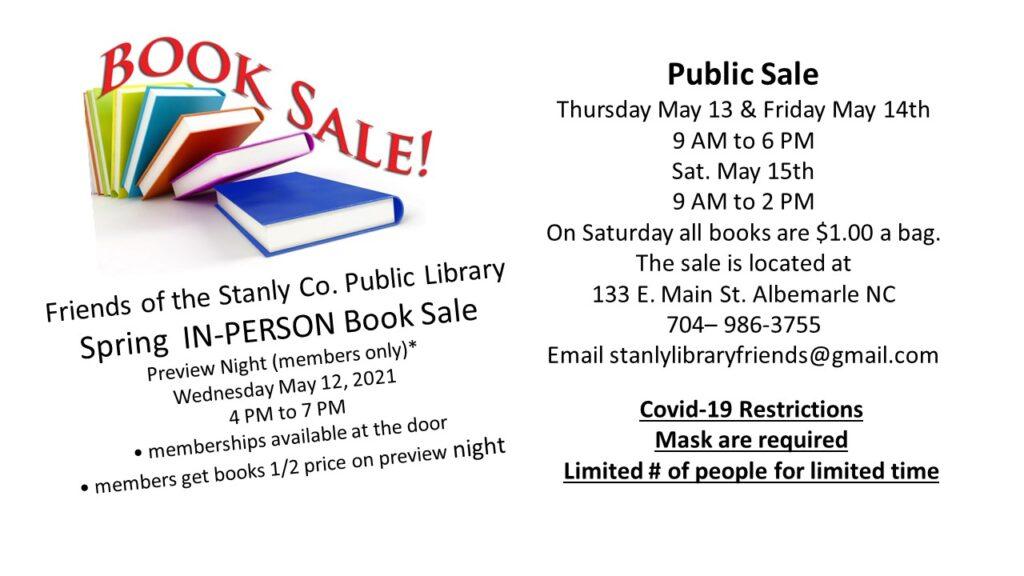 Friends' Book Sale!